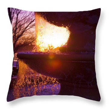 6 Am Throw Pillow