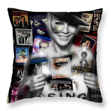 Annie Lennox Collection Throw Pillow