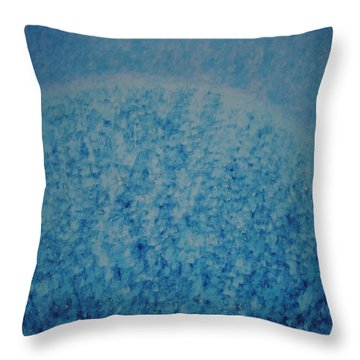 Calm Mind Throw Pillow by Kyung Hee Hogg