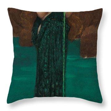 Circe Invidiosa Throw Pillow