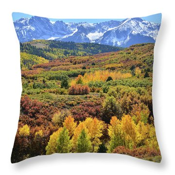 Throw Pillow featuring the photograph Dallas Divide by Ray Mathis