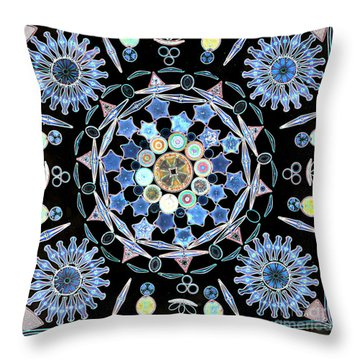 Light Micrograph Throw Pillows