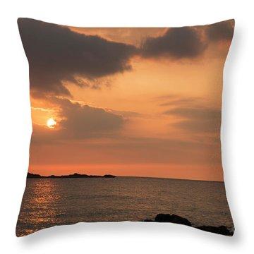Fine Art Sunset Throw Pillow