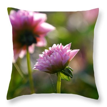 Flower Edition Throw Pillow