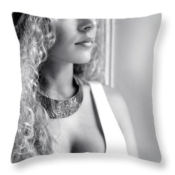 Gemma Throw Pillow by Jeremy Lavender Photography