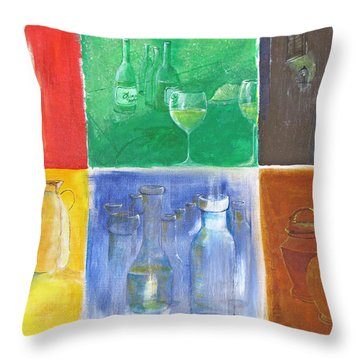 6 Panes Of Existence Throw Pillow