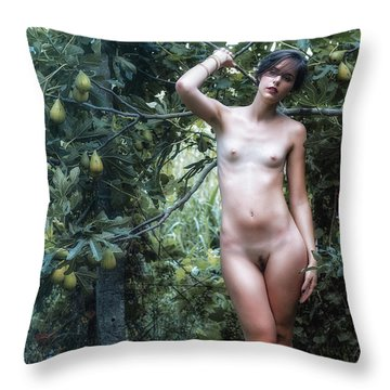 Salmace Throw Pillow