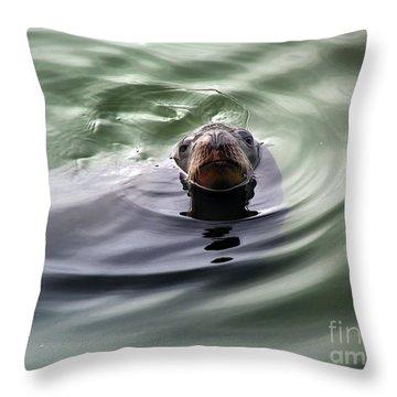 San Francisco, California Throw Pillow by Wernher Krutein