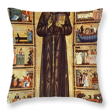 13th Century Throw Pillows