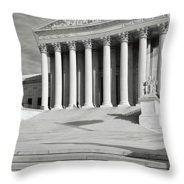 Supreme Court Of The Usa Throw Pillow