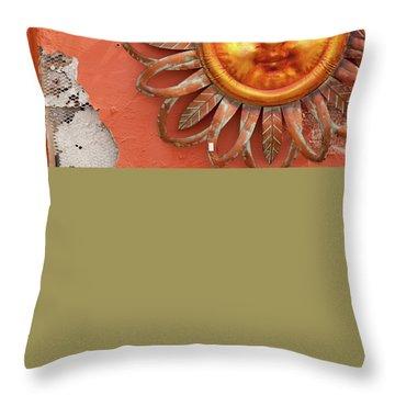 Textures Of Arizona Throw Pillow