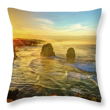 Twelve Apostles Victoria Throw Pillow