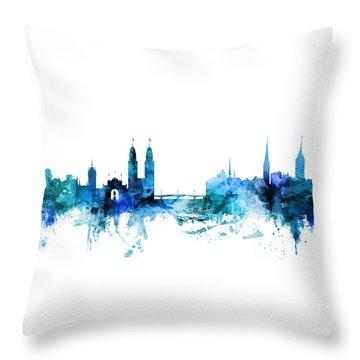 Zurich Throw Pillows