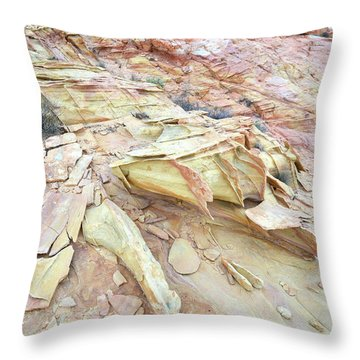 Throw Pillow featuring the photograph Valley Of Fire by Ray Mathis