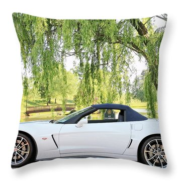 60th Anniversary 2013 Corvette 427 Throw Pillow