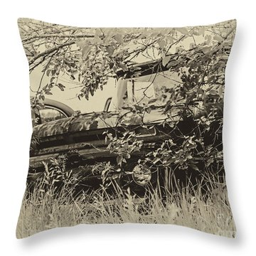 62 Chevy Pick Up Throw Pillow