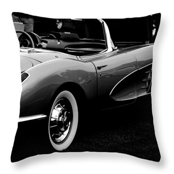 62 Vette Throw Pillow