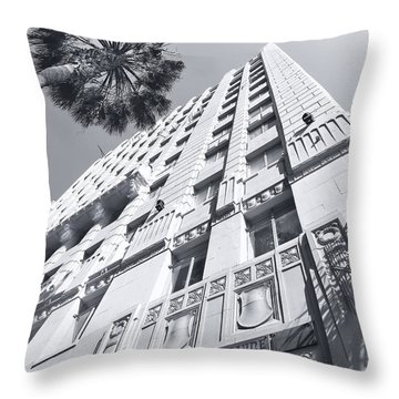6253 Hollywood At Vine Throw Pillow
