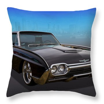 Throw Pillow featuring the photograph 63 Bird by Keith Hawley