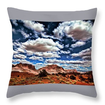 Capitol Reef National Park Throw Pillow
