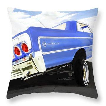 Arte Digital Art Throw Pillows