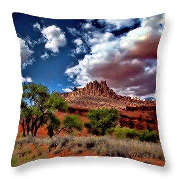 Capitol Reef National Park Throw Pillow