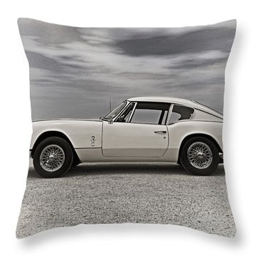 '67 Triumph Gt6 Throw Pillow