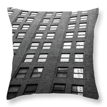 67 Wall St Throw Pillow