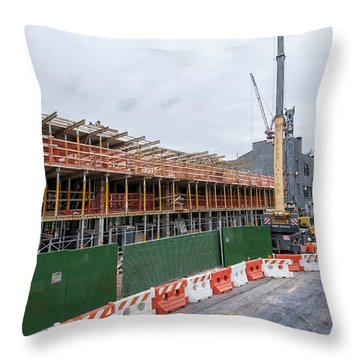 670 Pacific 1 Throw Pillow