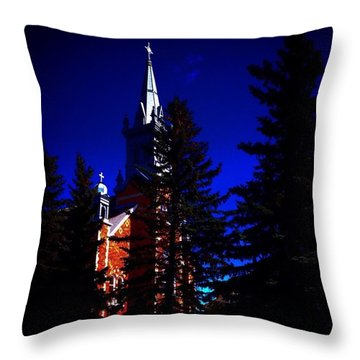 Sunday Glory Throw Pillow