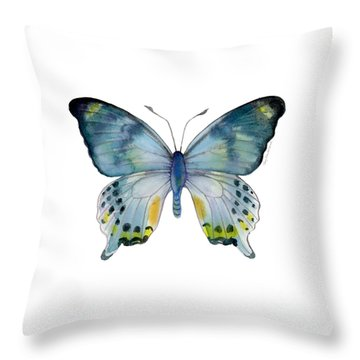 68 Laglaizei Butterfly Throw Pillow