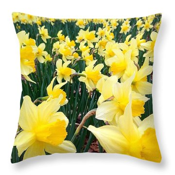 Angeline's Garden  Throw Pillow