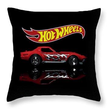 '69 Chevy Corvette Throw Pillow