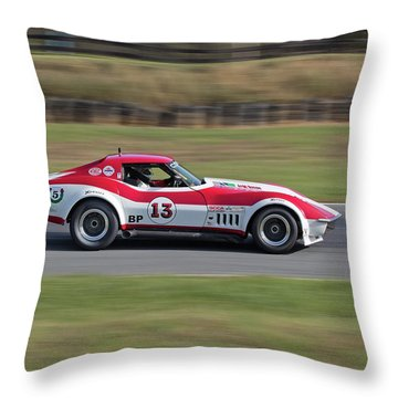 69 Vette Throw Pillow