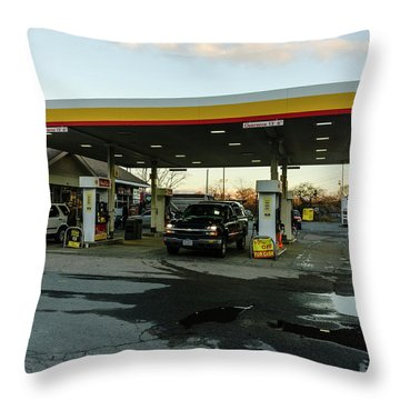 6a Station. Throw Pillow