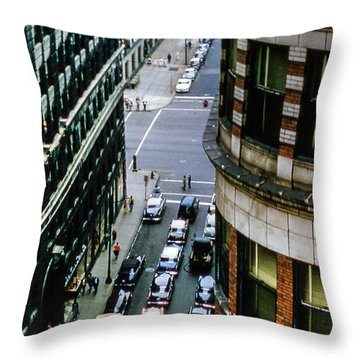 Throw Pillow featuring the photograph 6th And Superior - Cleveland by Samuel M Purvis III