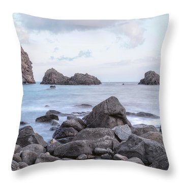 Aci Trezza - Sicily Throw Pillow