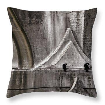 Architectural Detail Throw Pillow