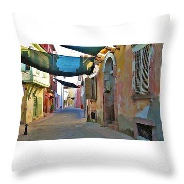 Ayvalik Turkey Throw Pillow