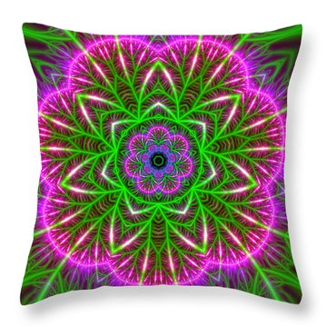 7 Beats Transition Throw Pillow