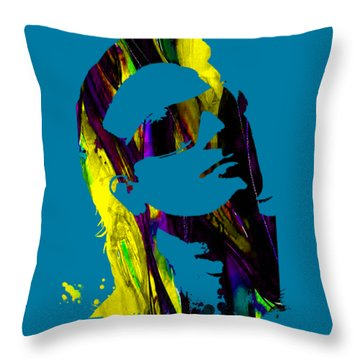 Bono Collection Throw Pillow by Marvin Blaine
