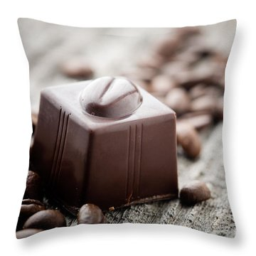 Chocolate Throw Pillow