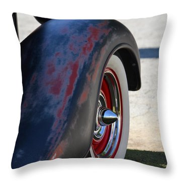 Classic Ford Pickup Throw Pillow