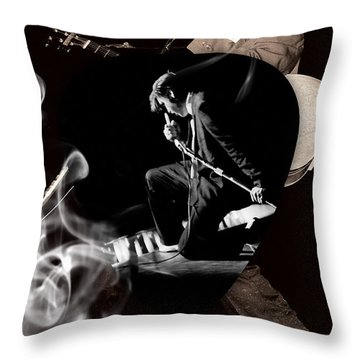Elvis Presley Art Throw Pillow