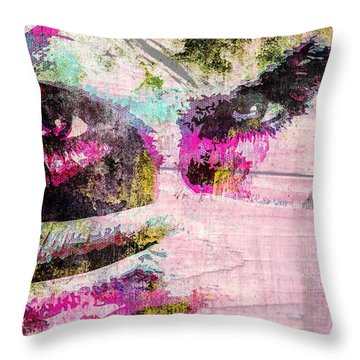 Ian Somerhalder Throw Pillow by Svelby Art