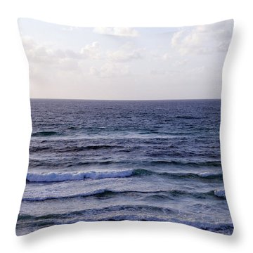 Jaffa Beach 2 Throw Pillow