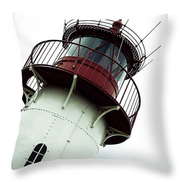 Lighthouse Throw Pillow by Joana Kruse