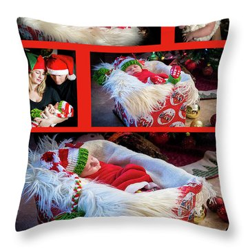 Merry Christmas Throw Pillow by Ivete Basso Photography