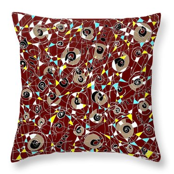 #7 Throw Pillow