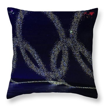 Opening Ceremony, 29th Olympiad Throw Pillow